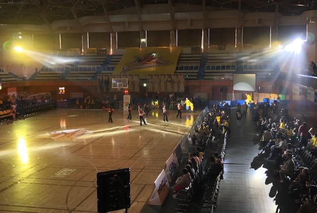 ヤマト市民体育館ホーム選手入場