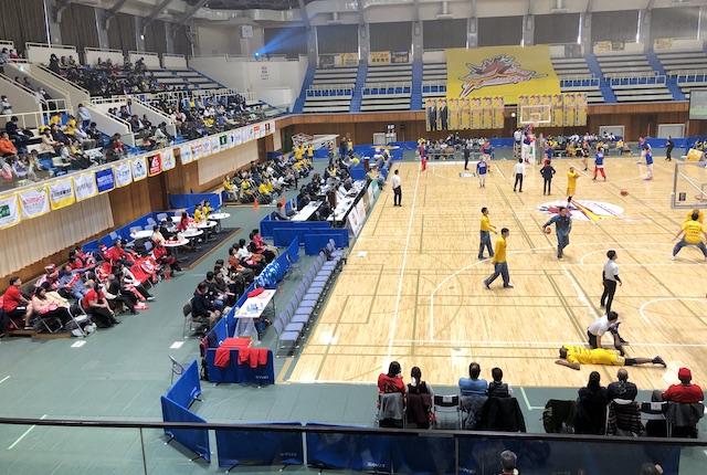 ヤマト市民体育館ヴォルターズレッド
