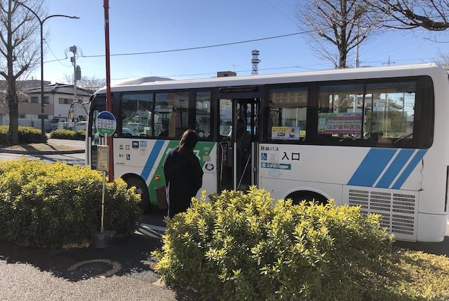 前橋南バス停