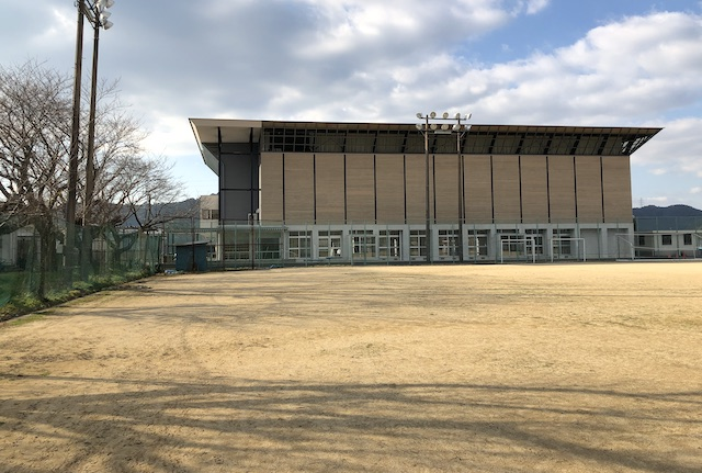 美里町町営球場西側