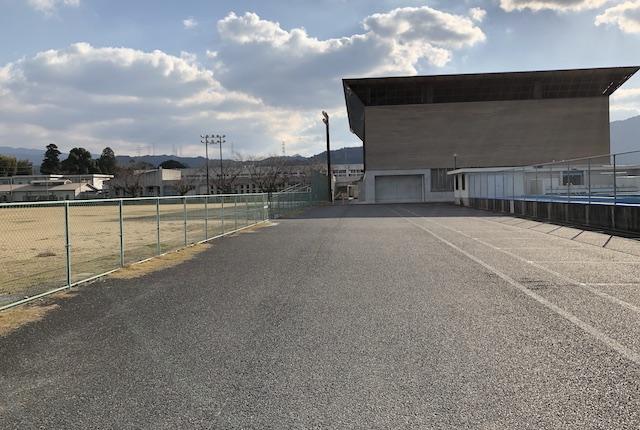 美里町町営球場駐車場