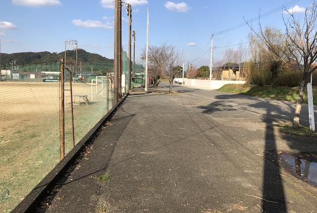 美里町営球場駐車場