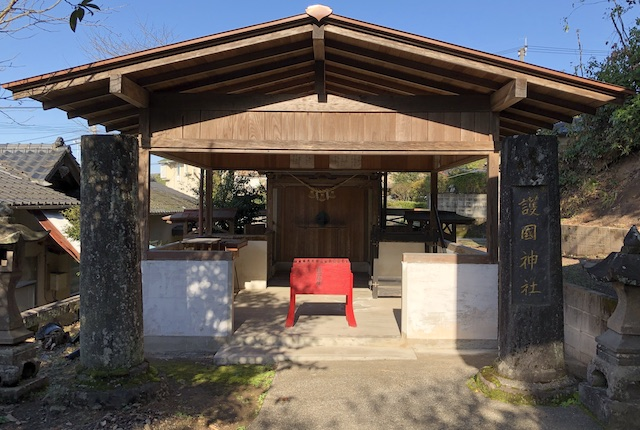 辺田見護国神社