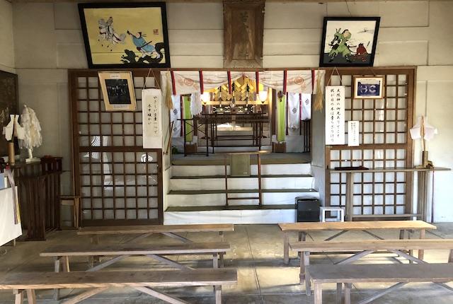 辺田見若宮神社社殿