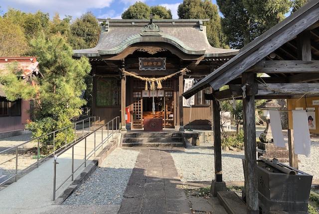 若宮神社拝殿