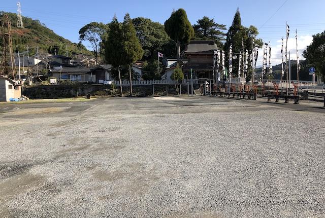 辺田見若宮神社駐車場