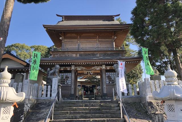 辺田見若宮神社楼門