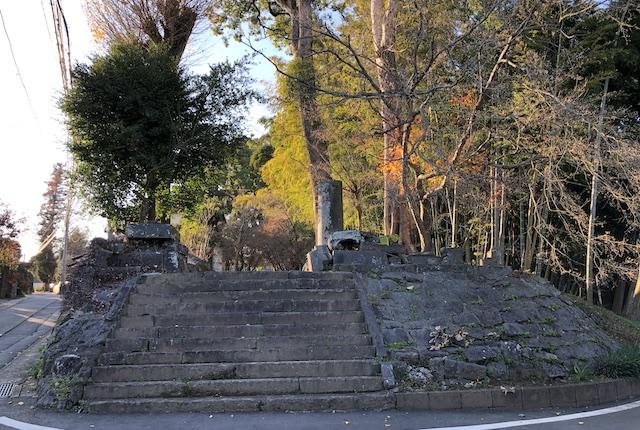 小木阿蘇神社鳥居倒壊