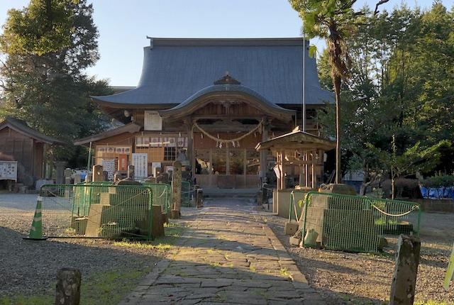 小木阿蘇神社拝殿