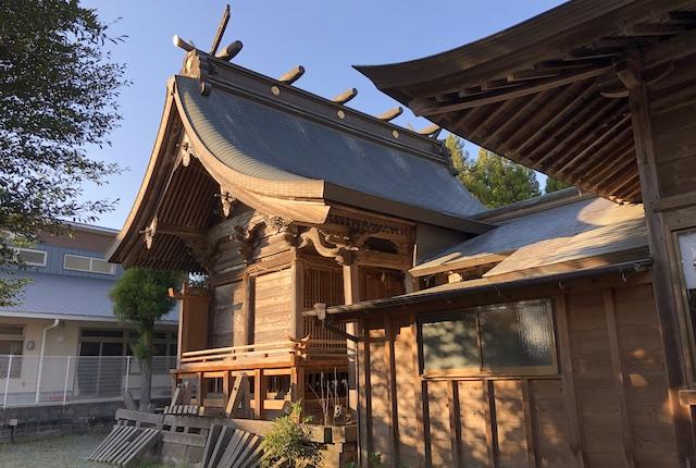 小木阿蘇神社本殿