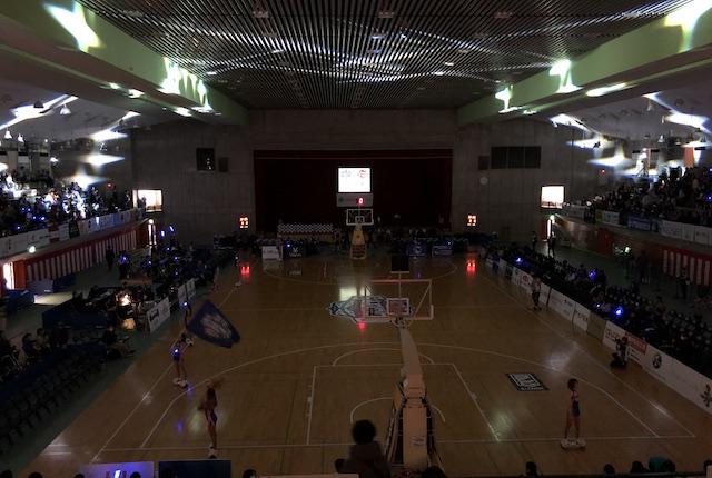 青柳公園市民体育館のゲームレポート