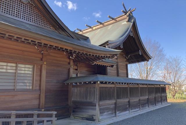 六嘉神社本殿