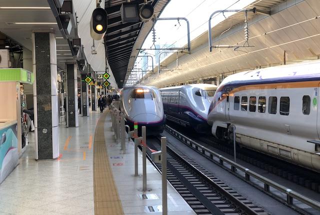 東京駅上越新幹線