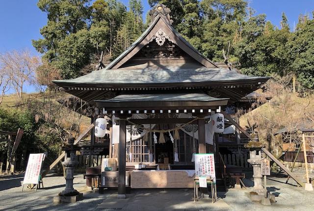 津森神宮拝殿