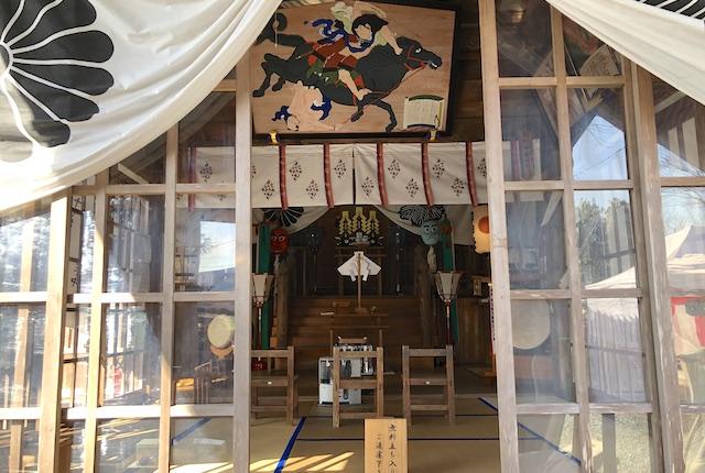 津森神宮社殿