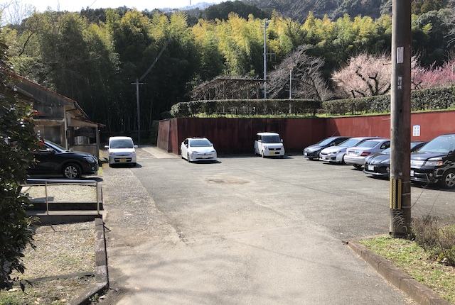 谷尾崎梅林公園駐車場