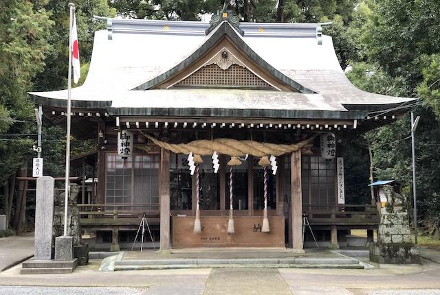 立田阿蘇三宮神社拝殿