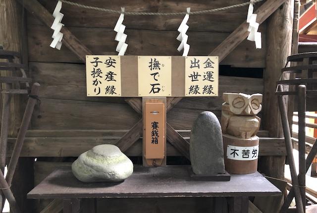 三宮神社撫で石