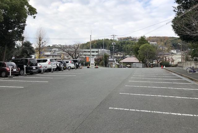 立田阿蘇三宮神社駐車場