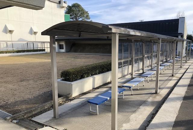 ヤマト市民体育館前橋弓道場