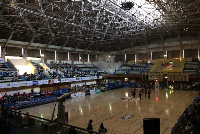 ヤマト市民体育館光漏れ