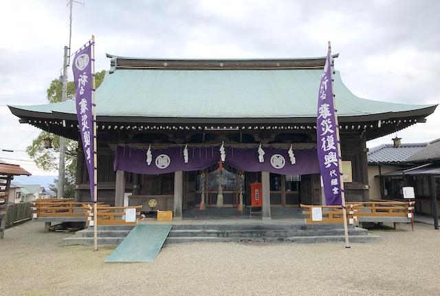 代継宮拝殿
