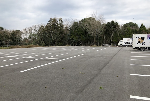 代継宮駐車場