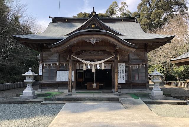 穂積阿蘇神社拝殿