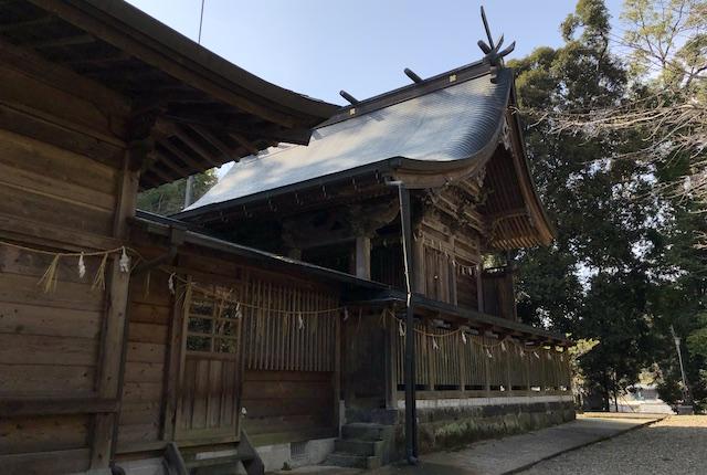 穂積阿蘇神社本殿