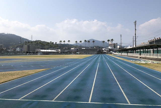 本渡運動公園陸上競技場