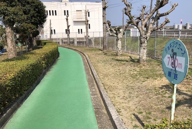 本渡運動公園ジョギングコース