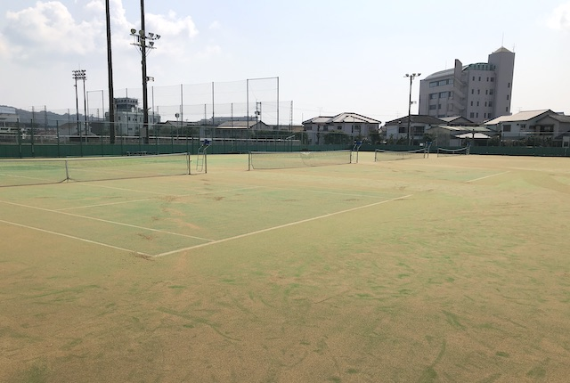 本渡運動公園テニスコート