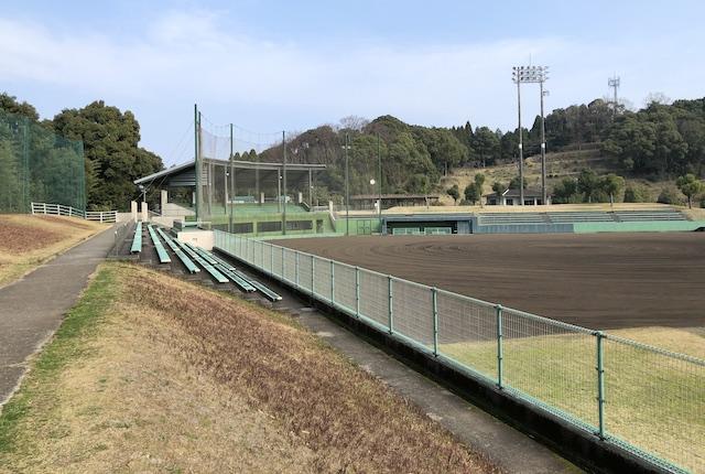 広瀬公園野球場