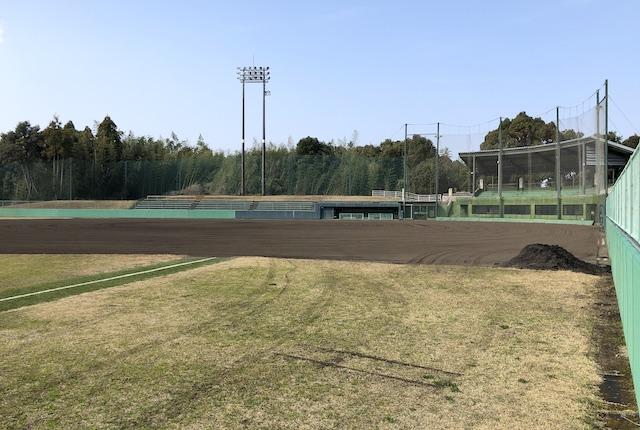 広瀬公園長嶋茂雄球場