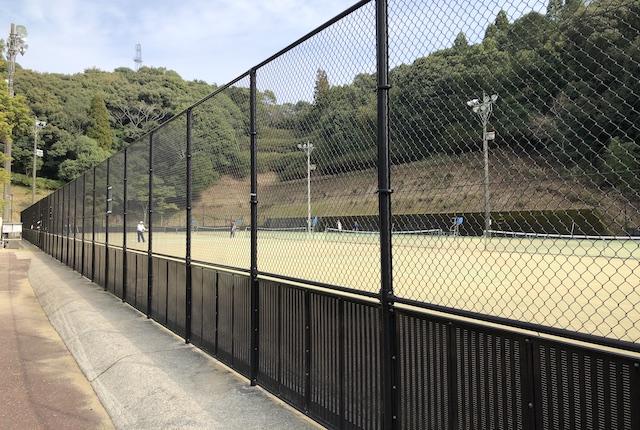 広瀬公園テニスコート