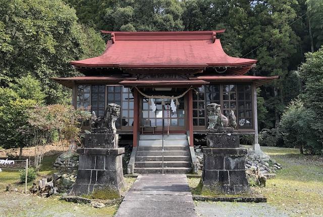 早川厳島神社拝殿