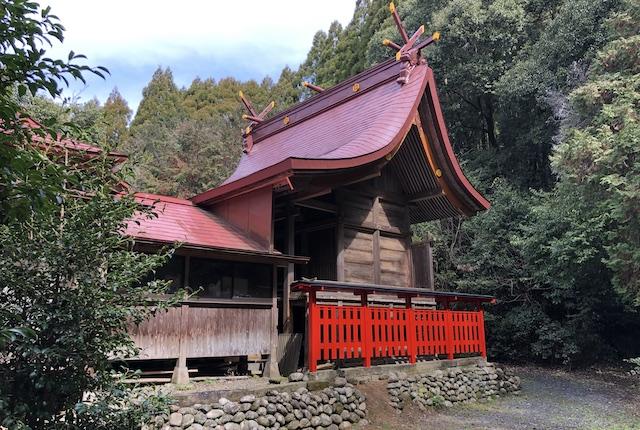 早川厳島神社本殿