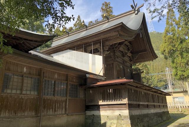 甲佐神社本殿