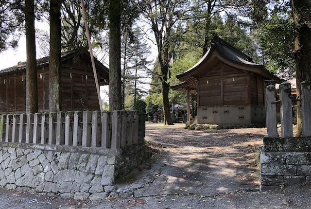 甲佐神社入口