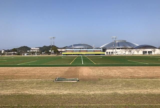 松島総合運動公園陸上競技場