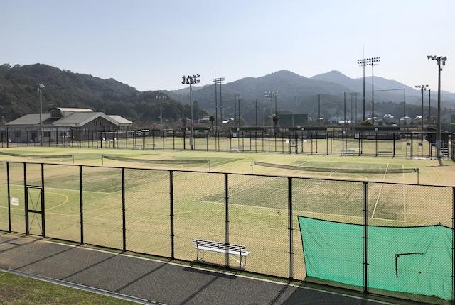 松島総合運動公園テニスコート