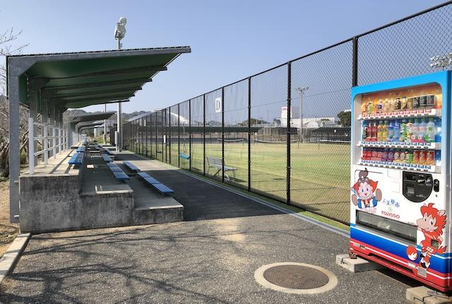 松島総合運動公園テニスコート観覧席