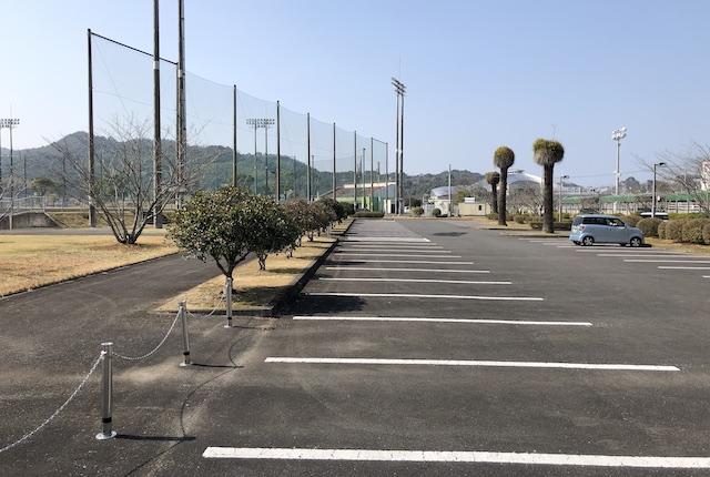 松島総合運動公園駐車場