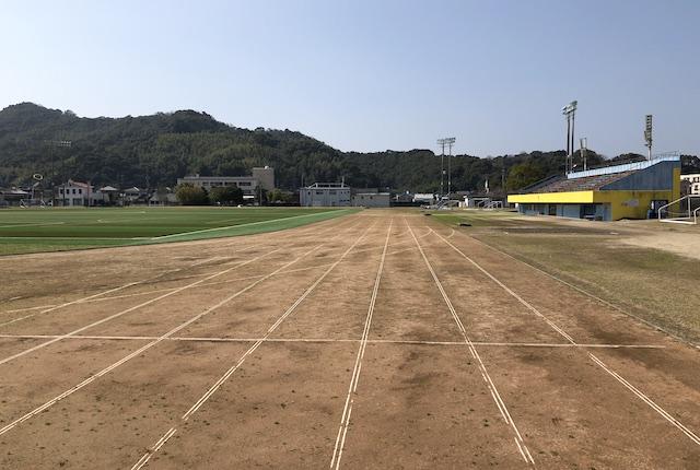 松島総合運動公園陸上トラック