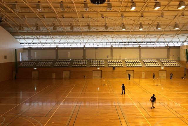 大矢野総合体育館メインアリーナ