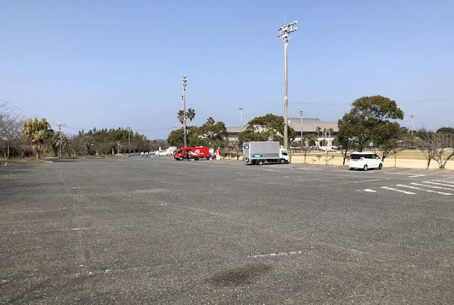 大矢野総合スポーツ公園駐車場