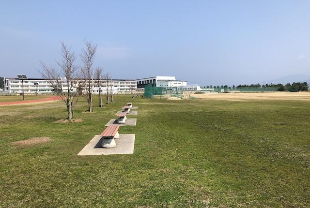 本渡港大矢崎緑地運動広場