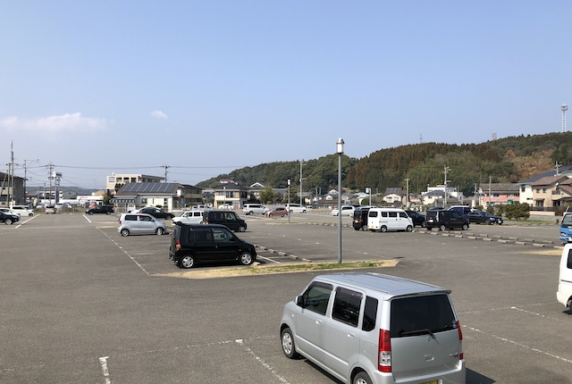本渡港大矢崎緑地公園駐車場