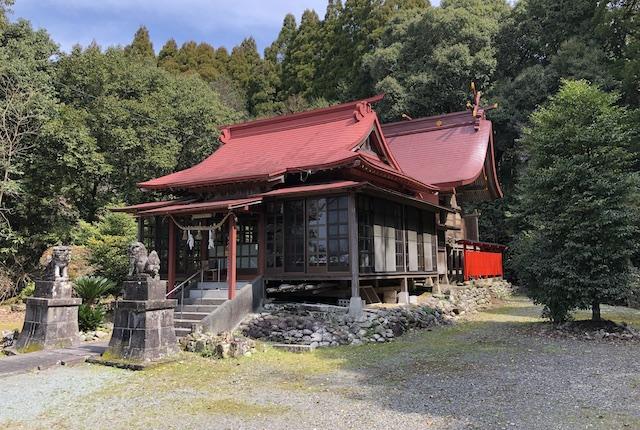 早川厳島神社社殿