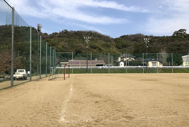 緑川グラウンドサッカーコート